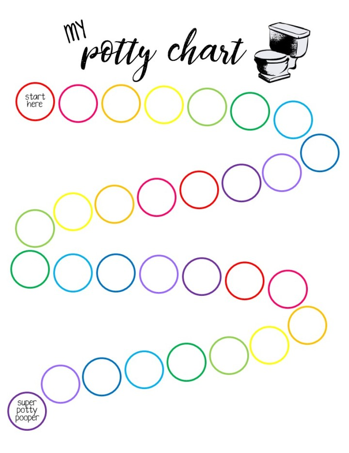Free potty training sticker chart printable rhiannon mairi